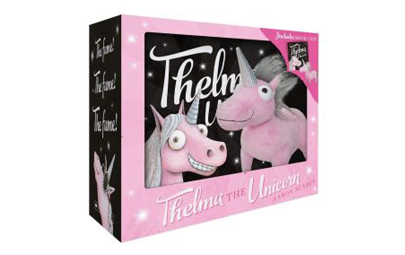 Thelma the Unicorn gift set