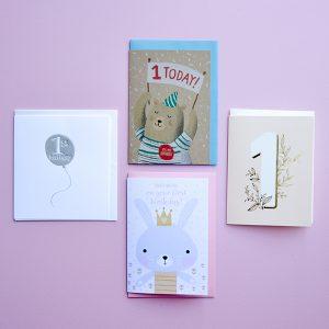 Gift Grapevine 1st birthday card bundle (4)