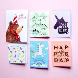 Gift Grapevine Kids Birthday Card Bundle (7)