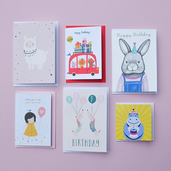 Kids BIrthday Card Bundle 6