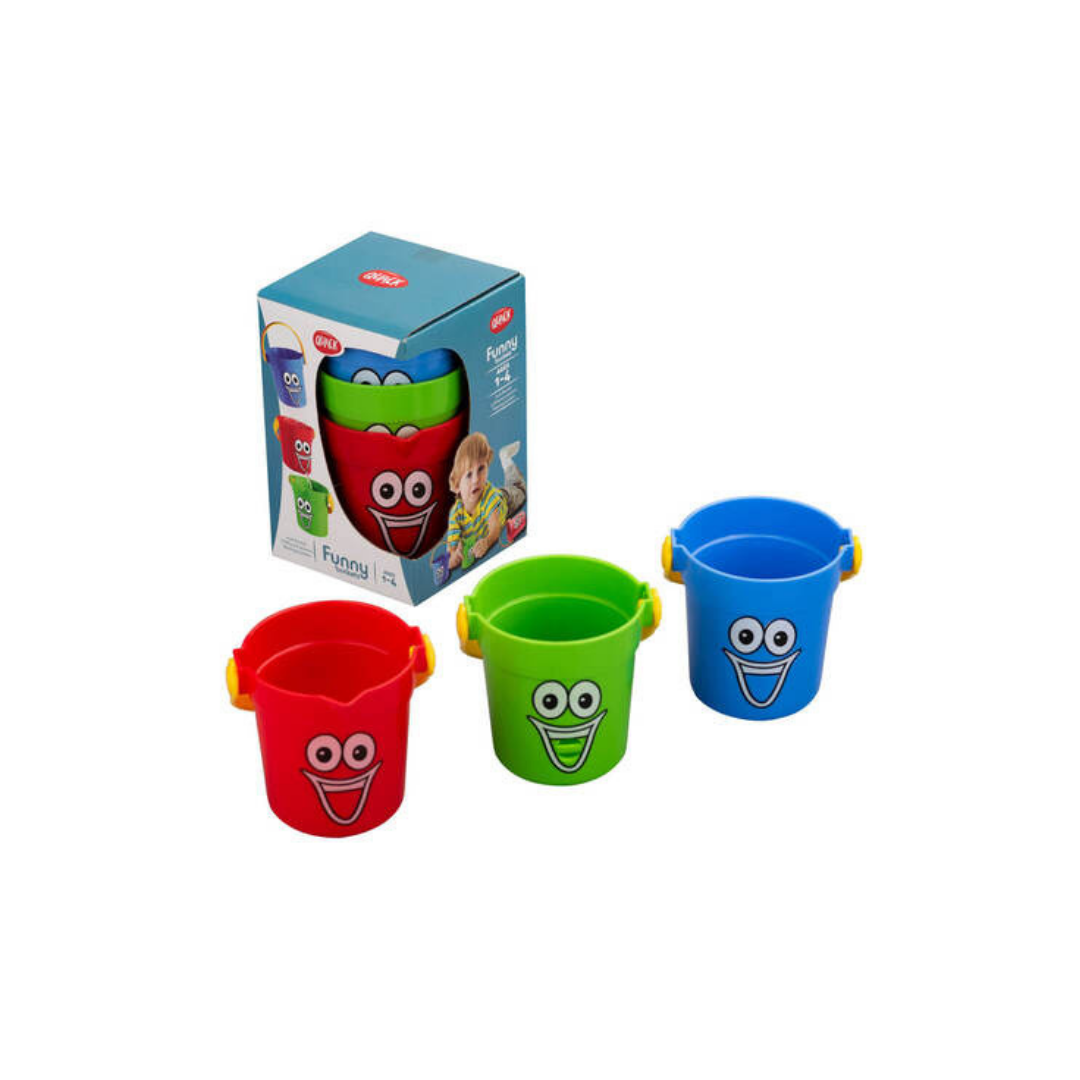 Funny buckets baby bath time gifts